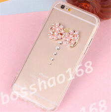 Glitter Luxury Crystal Bling Rhinestone Diamonds Soft Silicone Case Cover AD-6