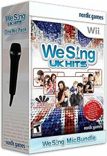 We Sing: UK Hits with 1 Microphone - Nintendo Wii