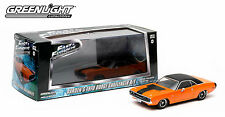 86207 1:43 GreenLight Fast & Furious 1970 Dodge Challenger R/T (Orange)