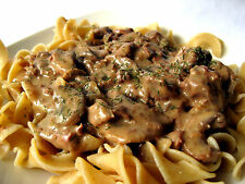 Sheryl's Homemade Easy Slow Cooker Beef Stroganoff .99 Cent Recipe Free Shipping