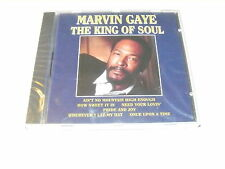 "MARVIN GAYE ""THE KING OF SOUL"" CD MCPS SEALED"