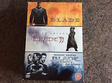Blade Dvd 3 Film Boxset! Look At My Other Dvds!