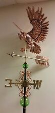 Beautiful  COPPER OWL WITH ARROW  weathervane,all parts except,, ,NO mount