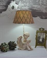 Vintage Lampe Engel Tischleuchte Amor Tischlampe Shabby Chic