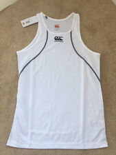 Canterbury Mens TCR Mercury Singlet White BNWT Size Medium