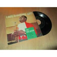 """LOUIS ARMSTRONG - the hot seven - BRUNSWICK French Ep 7"""" - 1961"""