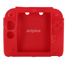 Soft Silicone For Nintendo 2DS Screen Rubber Skin Case Cover Crystal Clear UK