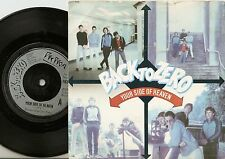 BACK TO ZERO YOUR SIDE OF HEAVEN UK 45+PS 1979 MOD REVIVAL THE JAM QUADROPHENIA
