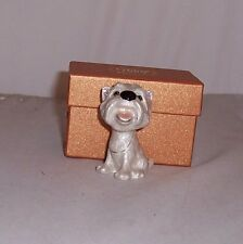 LITTLE PAWS Miniatures - figurine boxes Fergus the Westie