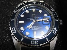 "New 101 HYAKUICHI 200m Scuba DIVERS ""AUTOMATIC"" Watch CITIZEN Movement Deep Blue"