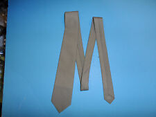 a0503  WWII US  Officers necktie Tan replica