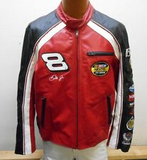 Mens Wilsons Leather Chase Authentics #8 Dale Earnhardt JR Jacket sz:M (#16680B)