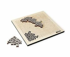 Fractal Puzzle Jigsaw Geometry Illusion Wood Handmade