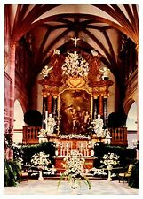 Blumentage in Heidelberg Postcard Schlosskapelle Chapel of Versailles Palace Vtg