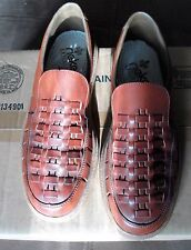 Vintage Mens Rieker Shoes Brown Slip On