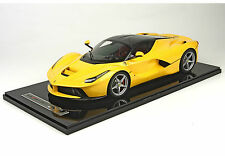 BBR 2013 LaFerrari Yellow with Carbon Fiber Roof LE of 100 1:12 BBR1202CCF*New