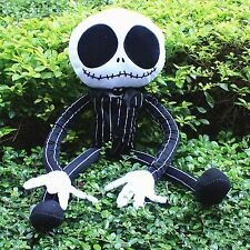 "The Nightmare Before Christmas Large Jack Skellington 24"" Halloween Plush Doll"