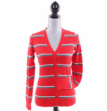 Tommy Hilfiger Women Stripe Long Sleeve Cable Knit Cardigan Sweater - $0 Ship