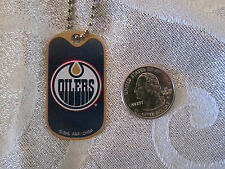 NHL Edmonton Oilers Blue Logo DogTag Necklace backpacks zippers party favors