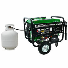NEW DuroMax 7HP Hybrid Camping Emergency Portable Gas-Propane Generator XP4850EH