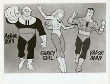 BIRDMAN AND THE GALAXY TRIO GRAVITY GIRL CAST HANNA BARBERA 1967 NBC TV PHOTO