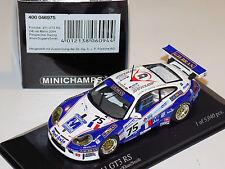 1/43 Minichamps Porsche 911 GT3 RS #75 24h Le Mans 2004 Perspective Racing