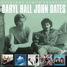 DARYL HALL & JOHN OATES - ORIGINAL ALBUM CLASSICS (OOH YEAH/+)  5 CD  NEU