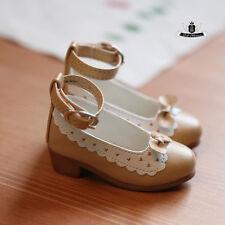1/3 BJD Shoes Dollfie DREAM Lolita lace bow Shoes MID AOD DOD SOOM Dollmore DZ