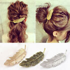 Women Fashion Metal Leaf Hair Clip Hairpin Barrette Bobby Pins Accessory Jewelry