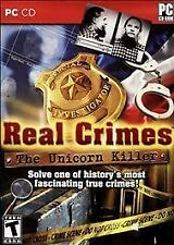 REAL CRIMES THE UNICORN KILLER + JACK THE RIPPER PC Game Hidden Object NEW