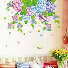 Romantic Flower Removable Vinyl Decal Wall Sticker Mural DIY Art Room Home Decor