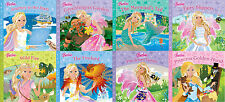 ‎BARBIE __ 8 BOOK SET __ JOURNEY GARDEN MERMAID FAIRY FIREBIRD GOLDENHOOD __ NEW