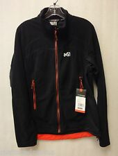 Millet Mens Vector Grid Jacket MIV 4611 Noir(Black)/Rouge(Red) Size Large