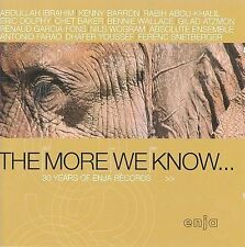 The More We Know: 30 Years of Enja Records by Various Artists (CD, 2002, Enja)