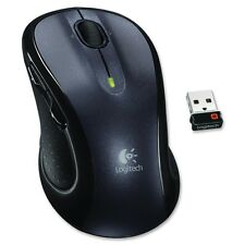 Logitech 910-001822 M510 Wireless Laser Mouse with Scroll Wheel - Gray, Black