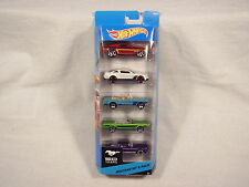 """2013 Hot Wheels 50 Years """"Mustang 50th"""" 5-Pack (Sealed!)"""