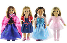 Hot 4 Set Doll Clothes Fashion Style for 18 inch American Girl Doll Clothes B4-1