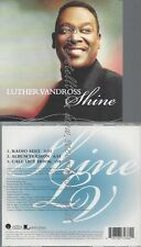 PROMO CD--LUTHER VANDROSS --SHINE--3TR