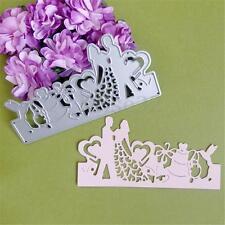 Bride Groom Wedding Die Cutting Dies Stencils DIY Scrapbooking Card Album Paper
