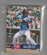 COMPLETE 2014 TENNESSEE SMOKIES AUTOGRAPH SET W/  KRIS BRYANT SEALED SET