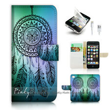iPhone 5 5S Print Flip Wallet Case Cover! Dream Catcher P0419