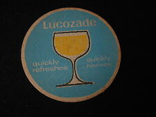 Vintage Lucozade beer mats  one of several Listed