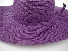 Red Hat Ribbon Ladies of Society Queen Bee Classic Purple Paper Cotton Canvas