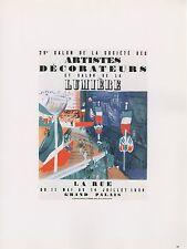 """1989 VINTAGE """"RAOUL DUFY ARTISTES DECORATEURS"""" MINI POSTER COLOR Art Lithograph"""