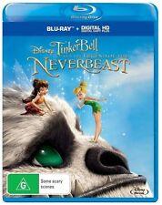Tinker Bell - Legend Of The NeverBeast (REGION A/B/C Blu-ray) Disney/mint