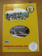 08/11/2004 Leamington Youth v Mount Nod Highway Youth  . Item In very good condi