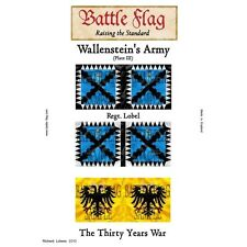 Battle Flag - Wallenstein's Army Plate III (Thirty Years War) - 28mm