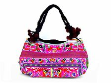 Large Embroidered Handmade Hmong Tote Bag Purse Thailand WHOLESALE AVAILABLE