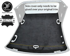 YELLOW STITCH CONVERTIBLE HARDTOP ROOF HEADLINING PU SUEDE COVER FITS BMW E36