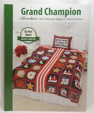 New Herrschners Crochet Afghan 2015 Grand Champion Pattern Book Do Not Open